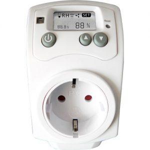 controlador temperatura y humedad
